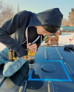 Full guide on how to install a roof vent fan in your campervan conversion! This great resource will show you Rv Camping Tips, Van Camping, Backpacking Meals, Ultralight Backpacking, Hiking Tips, Beach Camping, Camping Life, Sprinter Camper, Ford Transit