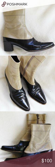 Spotted while shopping on Poshmark: PRADA Vintage Ankle Boots - Size 7.5! #poshmark #fashion #shopping #style #Prada #Shoes