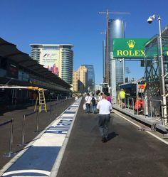Load In for the 2016 Formula One European Grand Prix at the Baku City #F1 Circuit in Azerbaijan