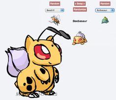 Pokemon fusion - Darbizarre