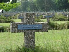 German War Cemetery (1914-18 and 1939-45), Lommel, Belgium.