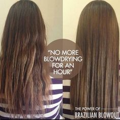 """This testimonial from busy mom & student Bobbi Davis says it all: """"I finally did it! I've been wanting a Brazilian Blowout for a couple of years but never pampered myself enough to do it. The difference is pretty astonishing and after 3 washes, it's still straight with no frizz or curl. It's awesome to get out of the shower, comb my hair, & walk out of the house. Well worth it for me!  No, I didn't have to wait 3 days to wash my hair and no, my hair doesn't feel greasy."""" YOU deserve gorgeous... Frizz Free Hair, Brazilian Blowout, Curls, Student, Long Hair Styles, Shower, Mom, Awesome, Instagram Posts"""