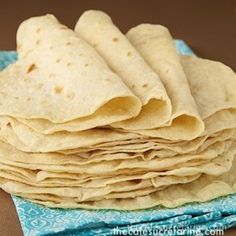 Best Ever! Homemade Flour Tortillas - thecafesucrefarine.com