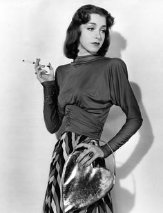 Marsha Hunt, 1939. American film, theater, and television actress who was blacklisted by Hollywood movie studio executives in the 1950s