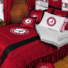 NCAA University of Alabama Sidelines Comforter