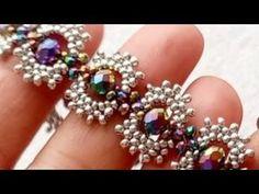 Seed Bead Necklace, Seed Bead Bracelets, Seed Beads, Beaded Necklace Patterns, Beaded Bracelets Tutorial, Seed Bead Tutorials, Beading Tutorials, Beading Patterns, Bracelets