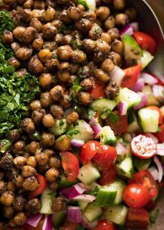 Eastern Spiced Chickpea Salad This may very well be the best chickpea salad you ever have in your life. Thank you Yotam Ottolenghi. This may very well be the best chickpea salad you ever have in your life. Thank you Yotam Ottolenghi. Yotam Ottolenghi, Ottolenghi Recipes, Middle Eastern Salads, Middle Eastern Recipes, Middle Eastern Salad Recipe, Recipetin Eats, Cooking Recipes, Healthy Recipes, Cooking Stuff