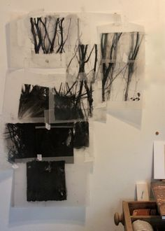 drawings on mylar Painting Collage, Paintings, Etching Prints, Black And White Painting, Contemporary Abstract Art, Art Images, Art Drawings, Art Projects, Art Photography