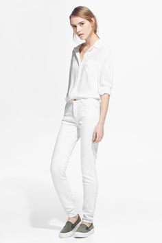 How To Work Winter White Denim