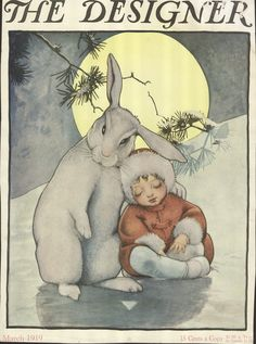 Vintage Cover from The Designer Little Child with Bunny