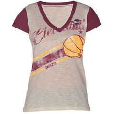 Cavaliers Ladies Zone Coverage Applique V-Neck $26 NEW