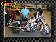 Thanks to Marcos Garcia from Hattiesburg MS for getting a 2002 Yamaha Road Star 1600 at Hattiesburg Cycles #Yamaha