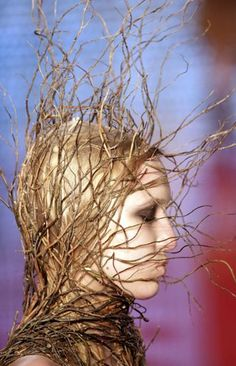 Image shared by Cat Owens. Find images and videos about girl, fashion and hair on We Heart It - the app to get lost in what you love. Vegetal Concept, Body Adornment, Midsummer Nights Dream, Fashion Art, Fashion Design, Girl Fashion, Headgear, Headdress, Faeries