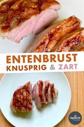 OptiGrill Rezept: Entenbrustfilet grillen - My list of simple and healthy recipes Grilling Recipes, Slow Cooker Recipes, Beef Recipes, Salad Recipes, Vegetarian Recipes, Cooking Recipes, Healthy Recipes, Organic Recipes, Indian Food Recipes