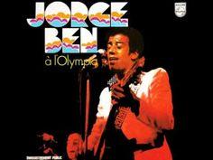 Jorge Ben à l'Olympia Samba, Olympia, Jorge Ben, Blues, Clouds Pattern, Lp Cover, Album Covers, Youtube, 1970s
