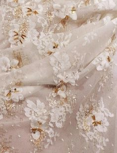 Lace embellishment