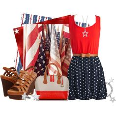 """""""Born on the 4th of July!!!"""" by lisa-craigo on Polyvore"""