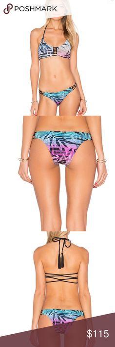 NWT PILYQ - Congo Bikini Top and Bottom Brand new with tags PILYQ bikini top and bottom. Top retails for $79 and bottom retails for $74. Still full price on the PILYQ website. Selling as set. Both are size small. Pilyq Swim Bikinis