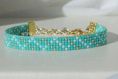 Loom Bracelet Patterns, Bead Loom Bracelets, Bead Loom Patterns, Friendship Bracelet Patterns, Jewelry Patterns, Bead Jewellery, Seed Bead Jewelry, Jewelry Art, Beaded Jewelry