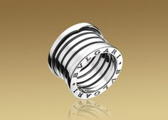 B.ZERO1 ring in 18kt white gold. One of my favorite casual rings. Very comfortable and timeless.