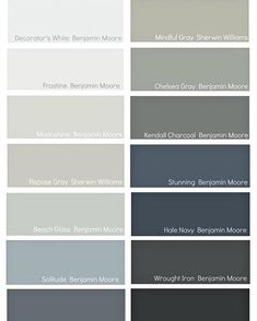"""This morning on the blog, I'm sharing my favorite """"Go-To"""" interior paint colors that I'm using and recommending the most right now. I'm also sharing details why these colors work so well and where to use them. Link in profile. #colorgeek #paint #paintcolors #bhghome"""
