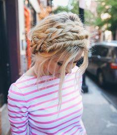 Fryzury dla półdługich włosów - zdjęcia i inspiracje