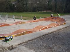Welcome to our Pump Track sectionOver the last three years we have been designing, building and promoting pump tracks. If you are not sure what a pump track is, the information below will hopefully give you an insight. As a summary, they are fun, can be