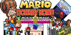 Mario and Donkey Kong: Minis on the Move 3DS CIA & Decrypted Rom Download - https://www.ziperto.com/mario-and-donkey-kong-minis-on-the-move-3ds/