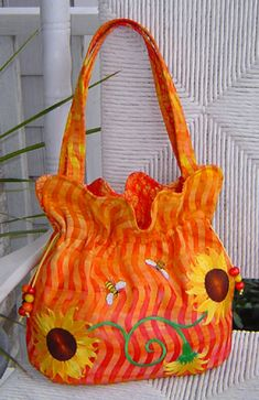 The Boho Baguette Handbag Sewing Pattern by Studio Kat Designs #sewing