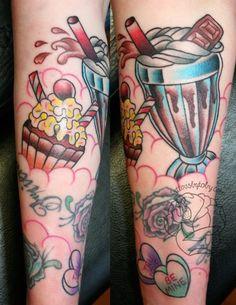 Sweets. Tattoo new school/old school.