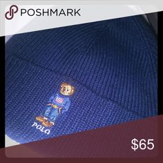 Polo beanie Brand new color blue Polo by Ralph Lauren Other