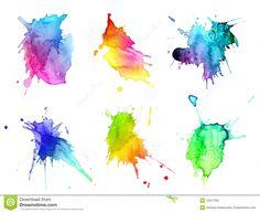 acuarela gradiente de colores - Buscar con Google