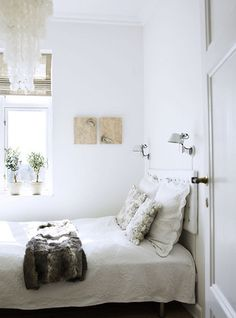 White Bedroom Very Small Bedrooms Designs Simple