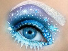 As Maquiagens Mais Criativas Inspiradas Nos Nossos Desenhos Favoritos http://wnli.st/201GjcF #Elsa #Frozen