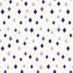 Cloud 9 House Designer - Cloud 9 Knits - Diamonds Knit in Navy