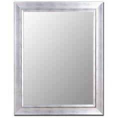 Vintage Silver Mirror with Silver Liner - 200209