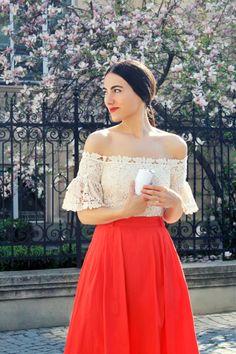Bonjour printemps! www.mauvert.com Beautiful People, Strapless Dress, Shoulder Dress, Dresses, Style, Fashion, Hello Spring, Strapless Gown, Vestidos