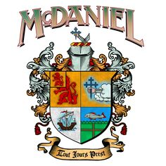 McDaniel coat of arms / family crest