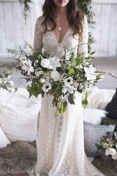 Country Mountain Wedding Inspiration - photo by Marcucci Photography http://ruffledblog.com/country-mountain-wedding-inspiration | Ruffled