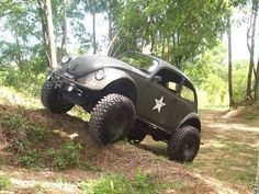 1968 Volkswagen Beetle Custom 4x4 Monster Mud Machine