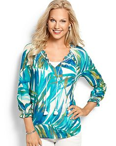 Tommy Bahama - Cape Palms Tie Top  $138 (NO WISHLIST OPTION)