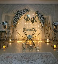 Wedding Backdrop Design, Desi Wedding Decor, Luxury Wedding Decor, Wedding Reception Backdrop, Outdoor Wedding Decorations, Backdrop Decorations, Ideas Aniversario, Event Decor, Outdoor Birthday