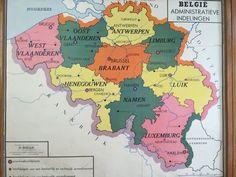 Wandkaart van België en Belgisch Congo (in de wereld) detail2