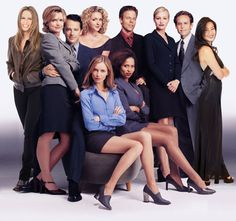 Ally McBeal.  This was an awesome show.