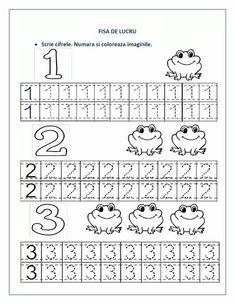 1 den 9 a Kadar Çizgi Çalışmaları Sayfası - Okul Öncesi Etkinlik Faliyetl. Preschool Number Worksheets, Numbers Preschool, Writing Worksheets, Preschool Learning, Kindergarten Worksheets, Worksheets For Kids, Preschool Activities, Math For Kids, Teaching Materials