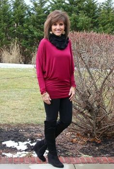 Styling another top from Glamour Farms today! It's Day 26 of my 31 days of Winter Fashion.