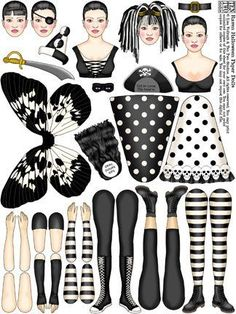 Raven Halloween Paper Dolls* Let's connect at social media Twitter #QuanYin5 YouTube QuanYin5 Linked In QuanYin5 Pinterest QuanYin5 * The International Paper Doll Society by Arielle Gabriel *: