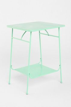 """Factory Side Table 19"""" W x 19"""" D x 26"""" H Versatile side table crafted from steel in a double-tiered design A rustic accent that will complement almost any area SKU # 24930851"""
