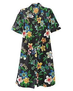 New Trending Outerwear: National Garden Melodies House Coat, Black Floral, Large - Misses, Womens. National Garden Melodies House Coat, Black Floral, Large – Misses, Womens  Special Offer: $19.95  166 Reviews Make a morning at home feel like a tropical holiday in our Garden Melodies House Coat. Made of richly printed, easy-care cotton-polyester, this delicate summer duster...