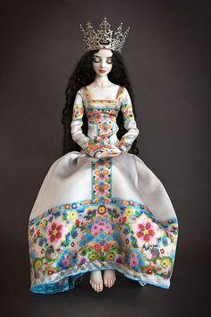 """✯ ★❤️^__^❤️★ ✯ """"SNOW-WHITE"""" Doll*icious Beauty--ENCHANTED DOLLS by Marina Bychkova ✯ ★❤️^__^❤️★ ✯"""